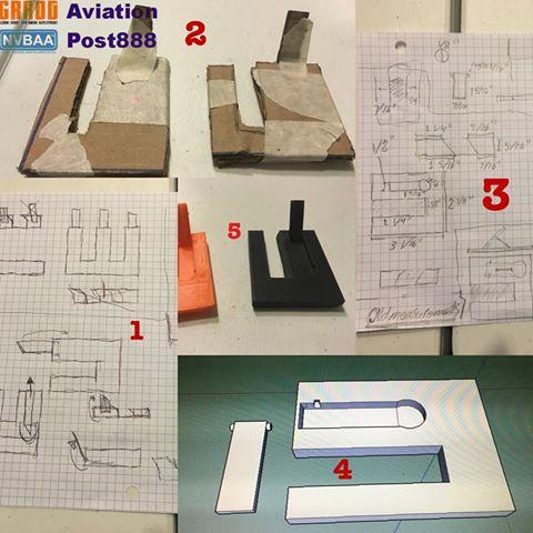 3D printed phone stand design process