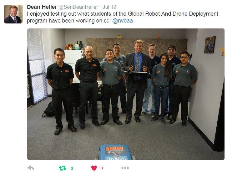Sen Deal Heller visit 072916